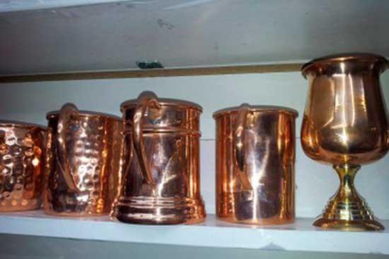 *Чаши и кубки из меди. Цена=1850 руб.-2160 руб.(чаши); Кубок цена = 2520 р.