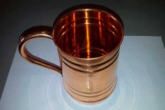 № 1*Чашка, кружка медная. Цена = 1850 рублей