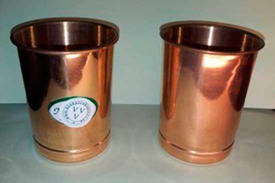 *Стакан медный с доп.биокорректирующим элементом. Цена=1080 руб.+ 360руб.=1440 рублей.